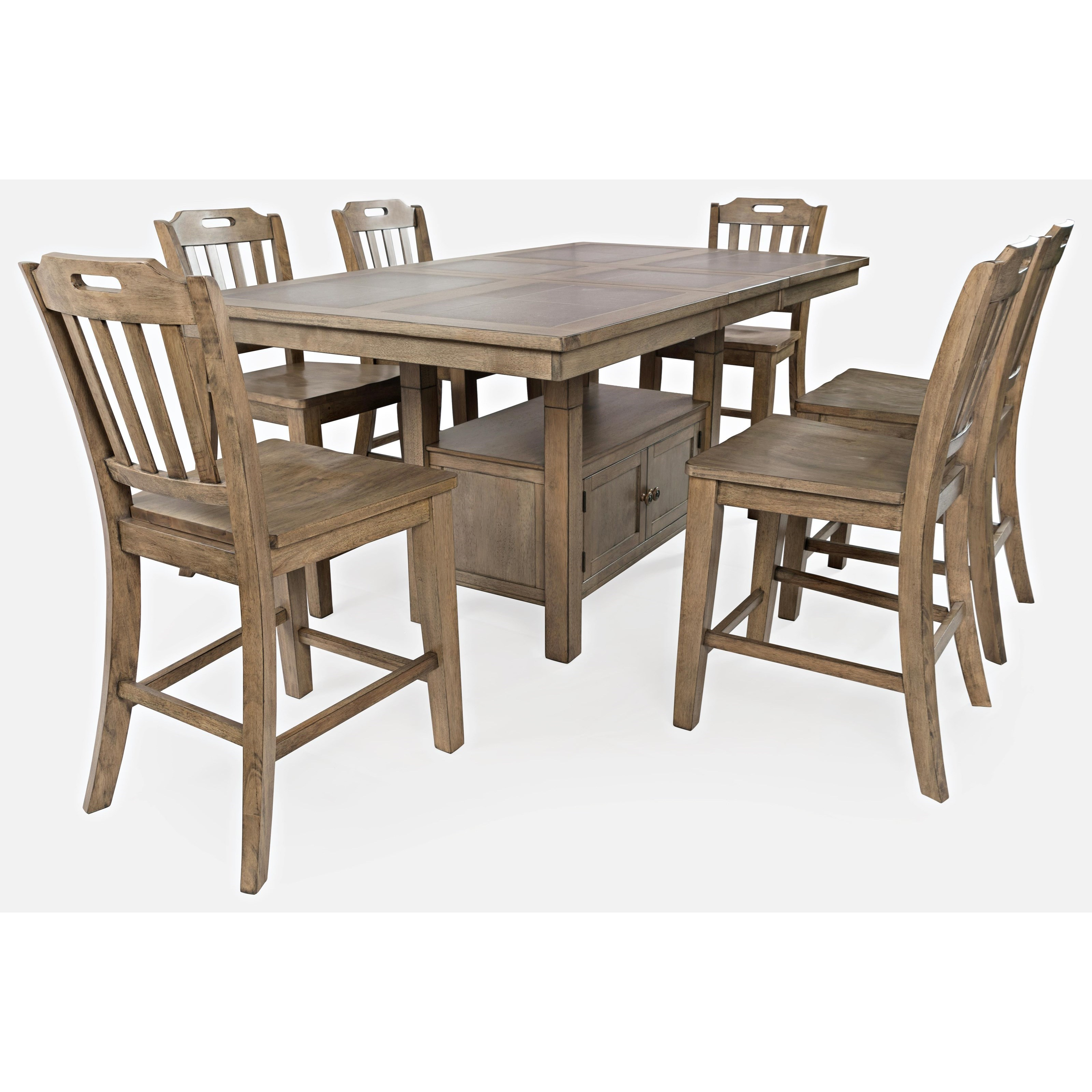 Prescott Park 7-Piece Dining Table and Chair Set by VFM Signature at Virginia Furniture Market