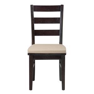 Jofran Prospect Creek Pine Three Rung Ladderback Chair