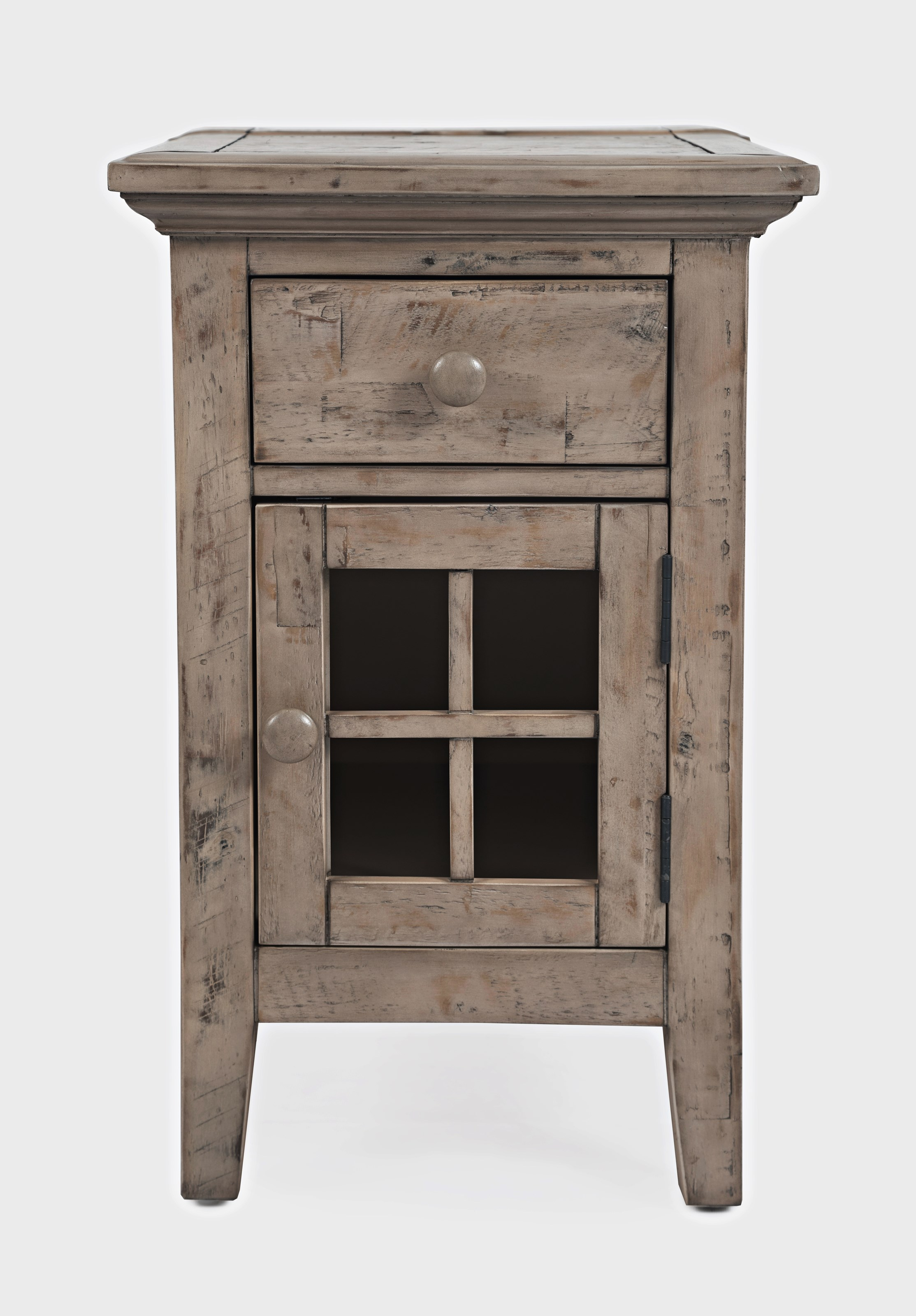 Rustic Shores Power Chairside Table by Jofran at Beck's Furniture