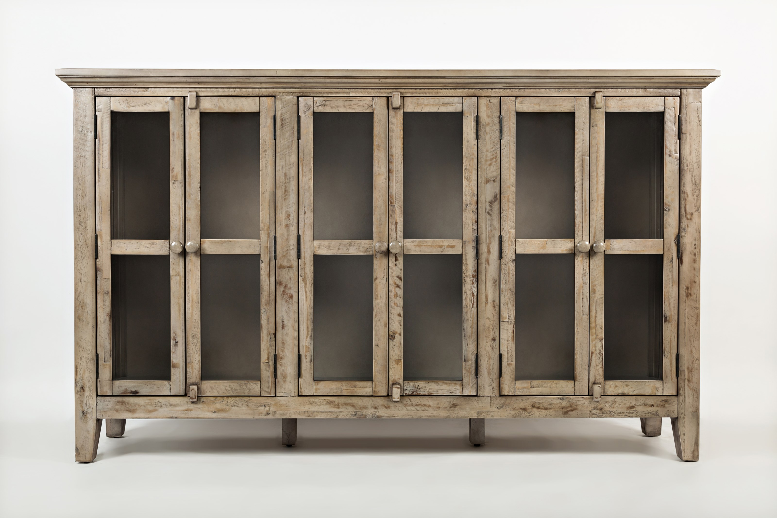"Rustic Shores 70"" Accent Cabinet by Jofran at Jofran"