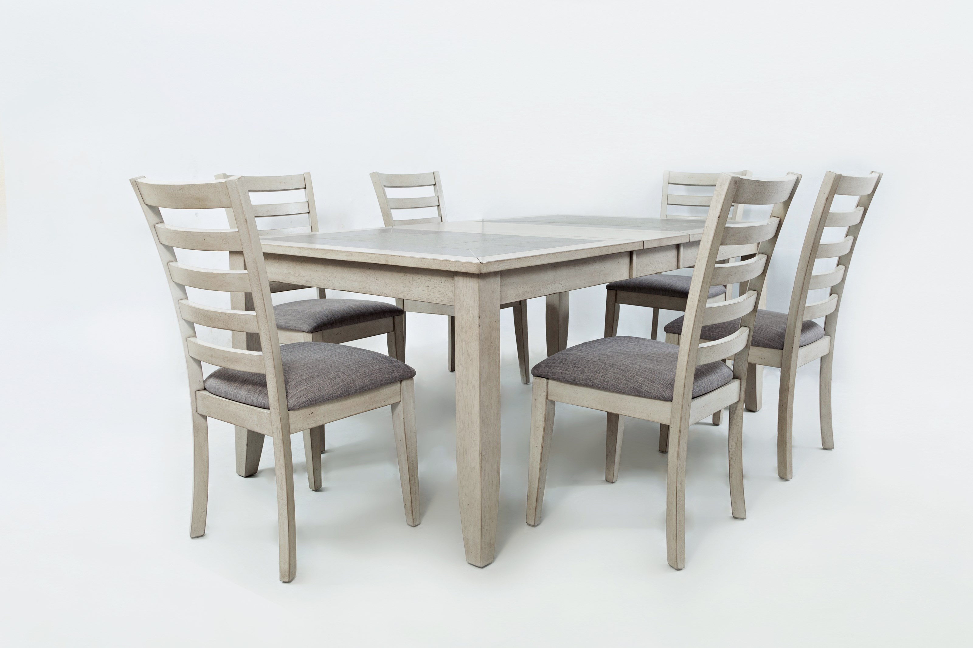 Sarasota Springs Tiled Extension Dining Table and Chair Set by Jofran at Sparks HomeStore
