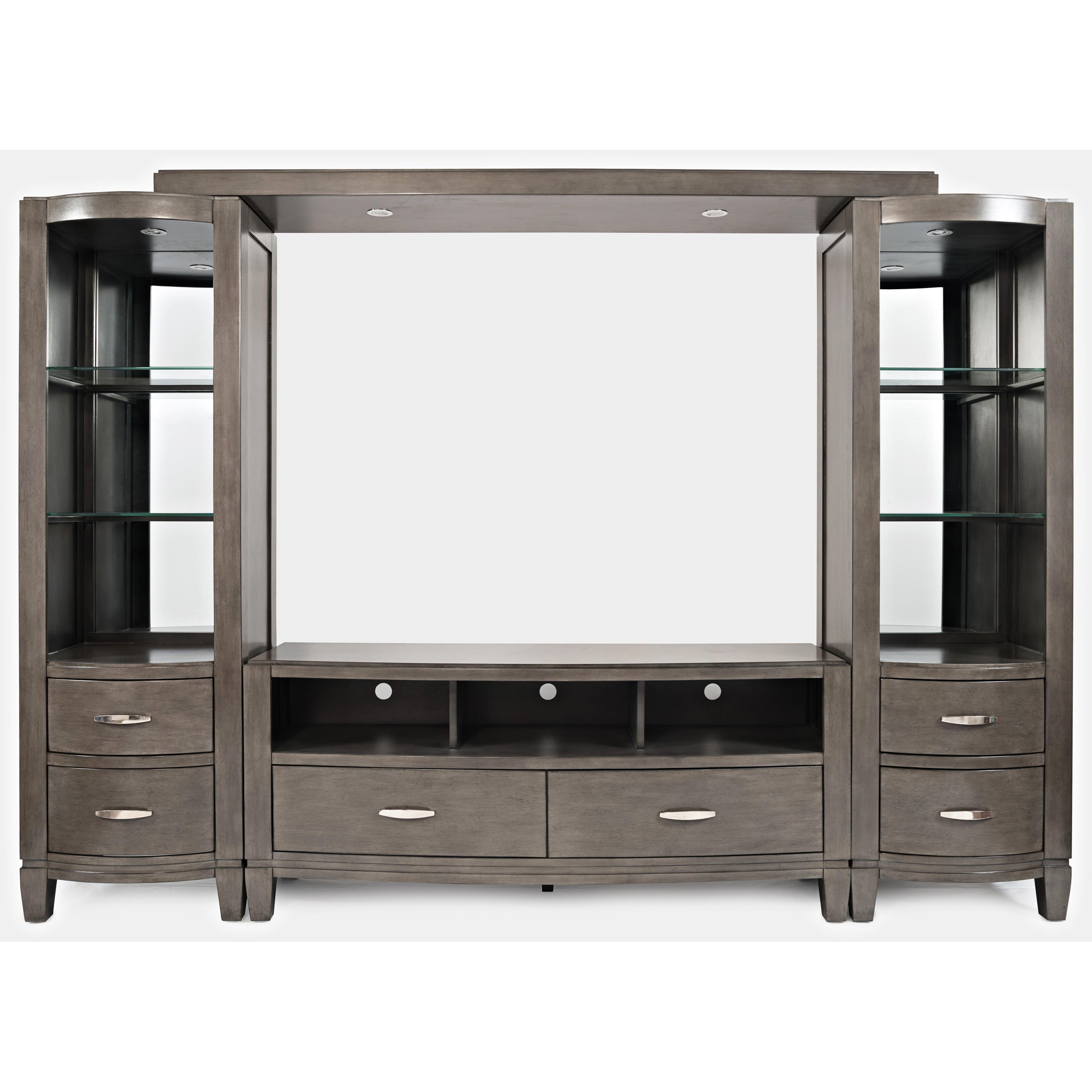 Scarsdale Entertainment Wall by Jofran at Jofran