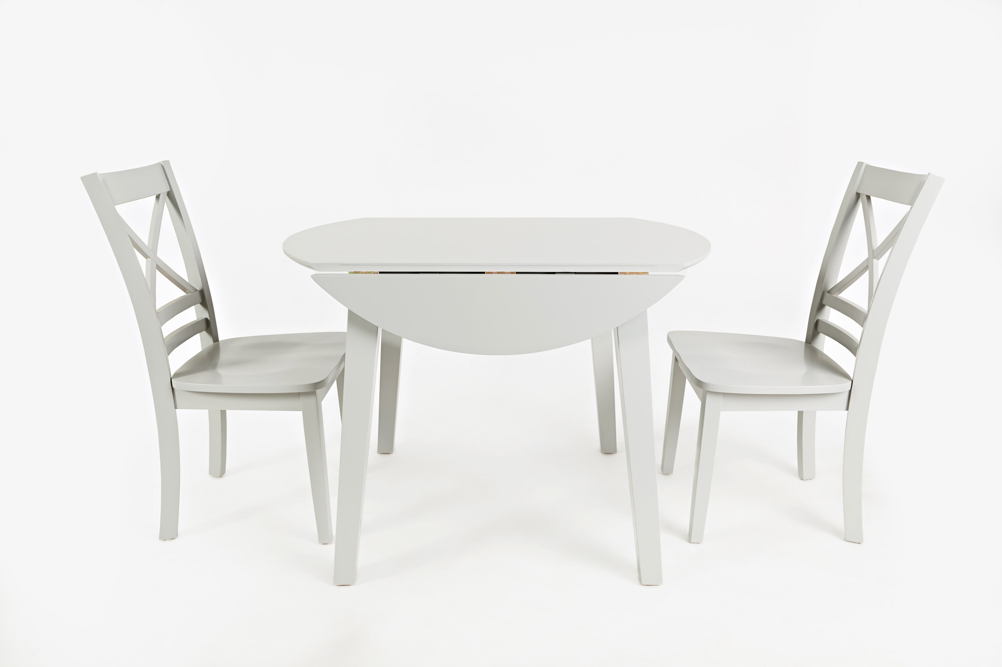 Simplicity Round Drop Leaf Table and Chair Set by Jofran at Prime Brothers Furniture