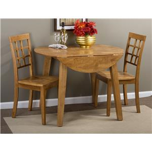 Jofran Simplicity Round Table and 2 Chair Set