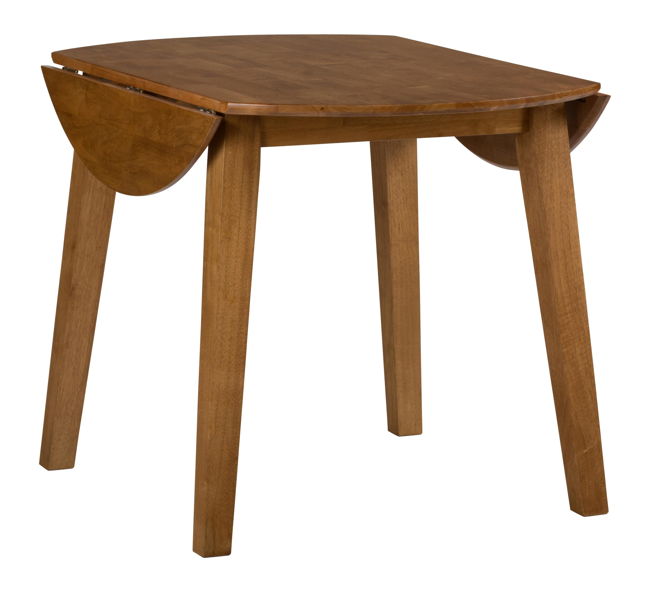 Simplicity Round Drop Leaf Table by Jofran at H.L. Stephens