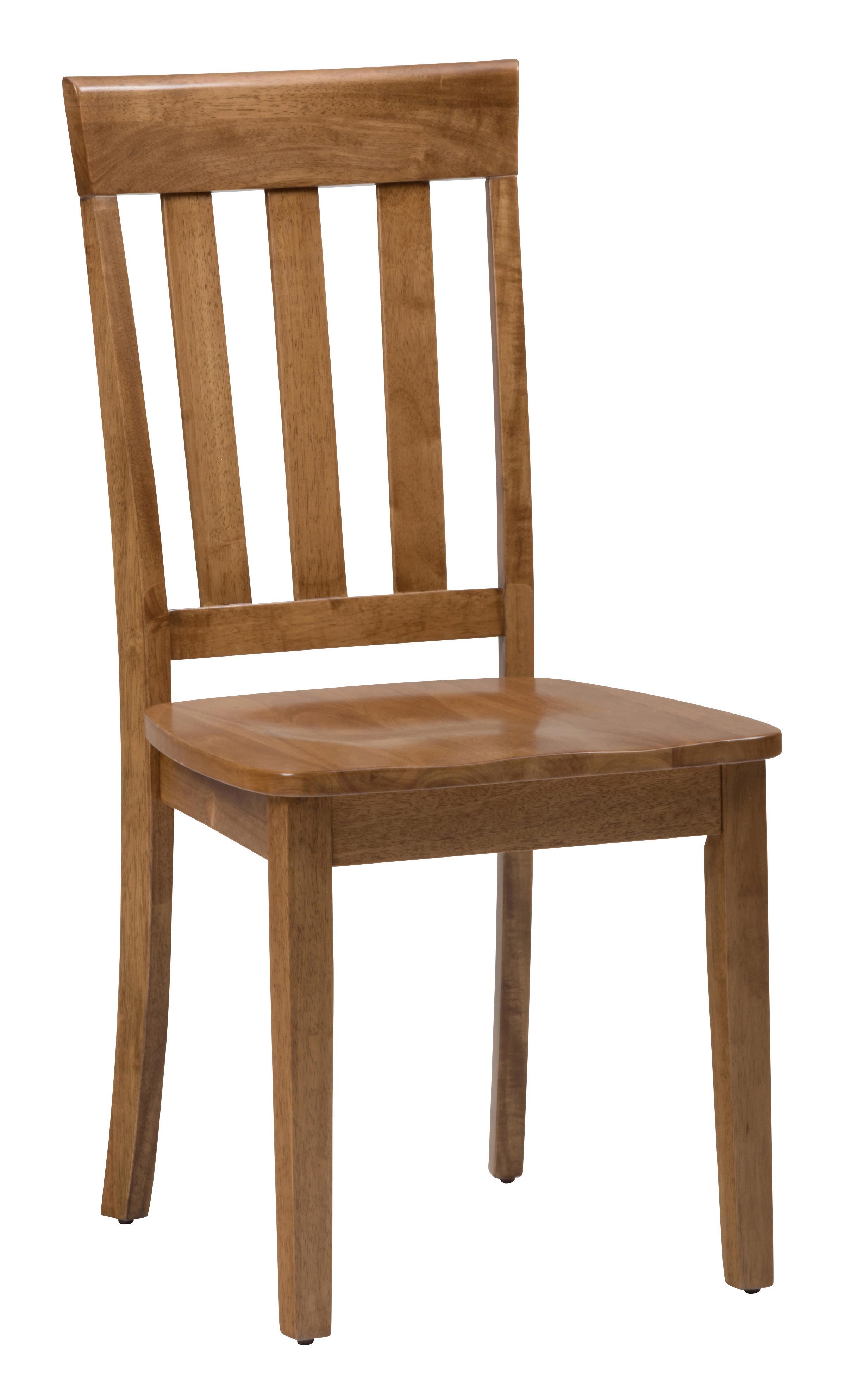 Simplicity Slat Back Side Chair by Jofran at HomeWorld Furniture
