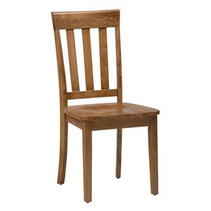 Slat Back Side Chair for Table Sets