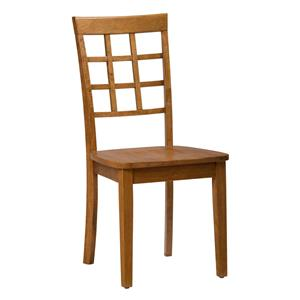 Jofran Simplicity Grid Back Side Chair