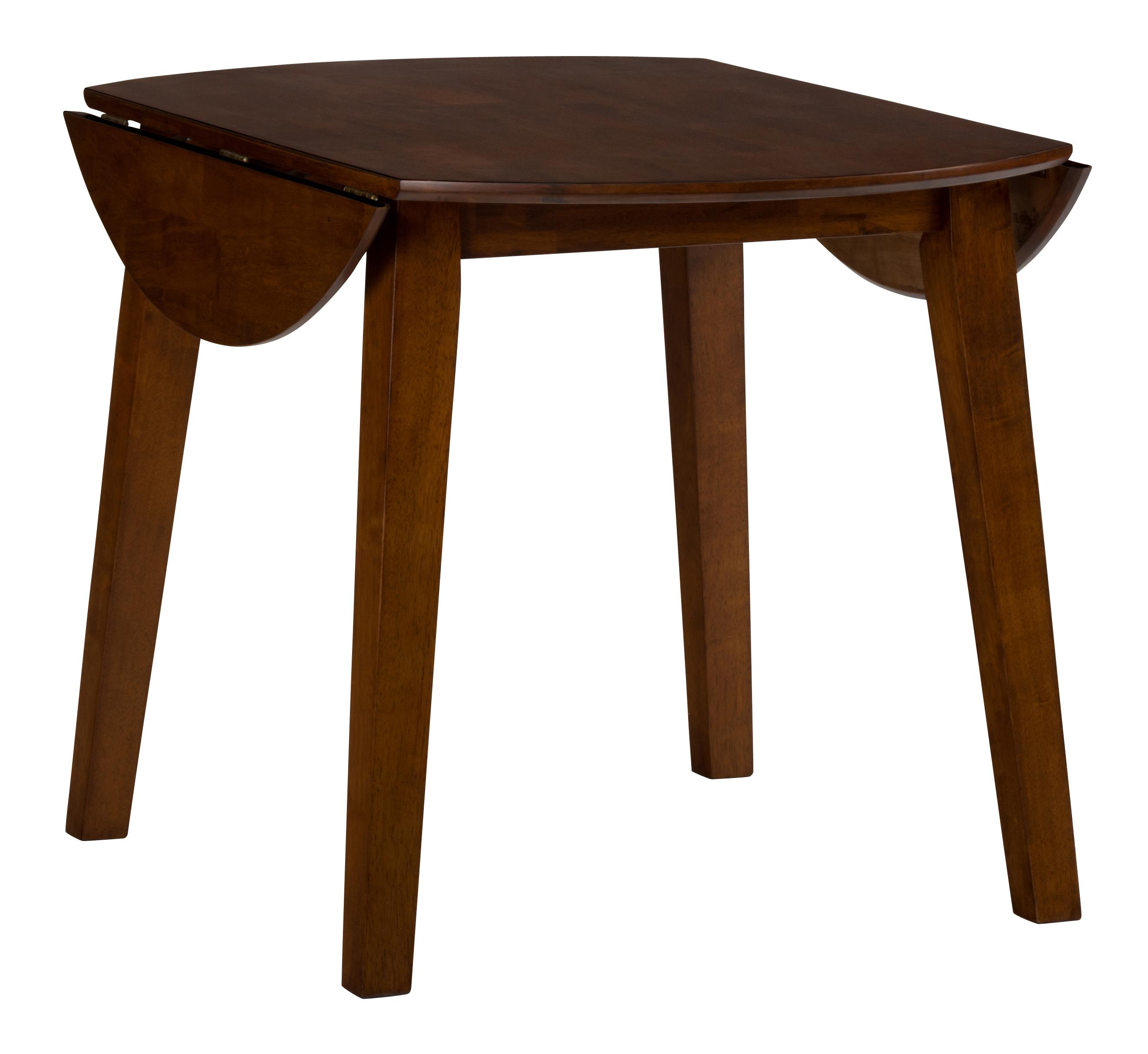 Simplicity Round Drop Leaf Table by Jofran at Zak's Home