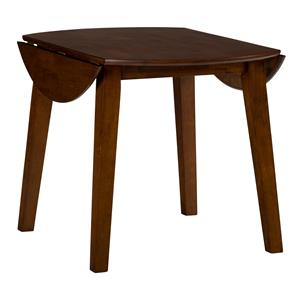 Round Drop Leaf Table that Seats 4 for Dining Areas
