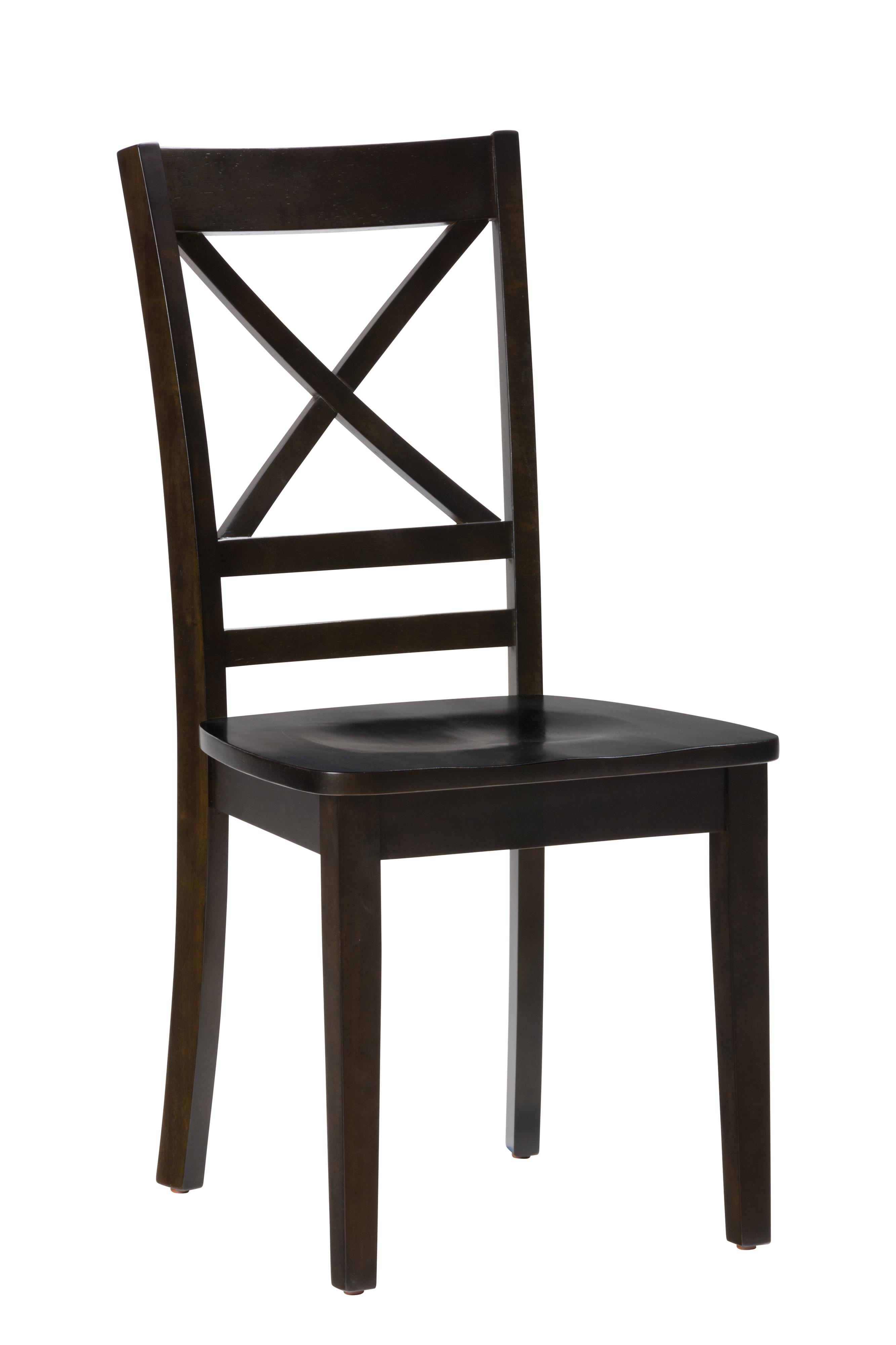 """Simplicity """"X"""" Back Side Chair by Jofran at Stoney Creek Furniture"""
