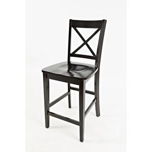 Jofran Simplicity X-Back Stool - Counter Height