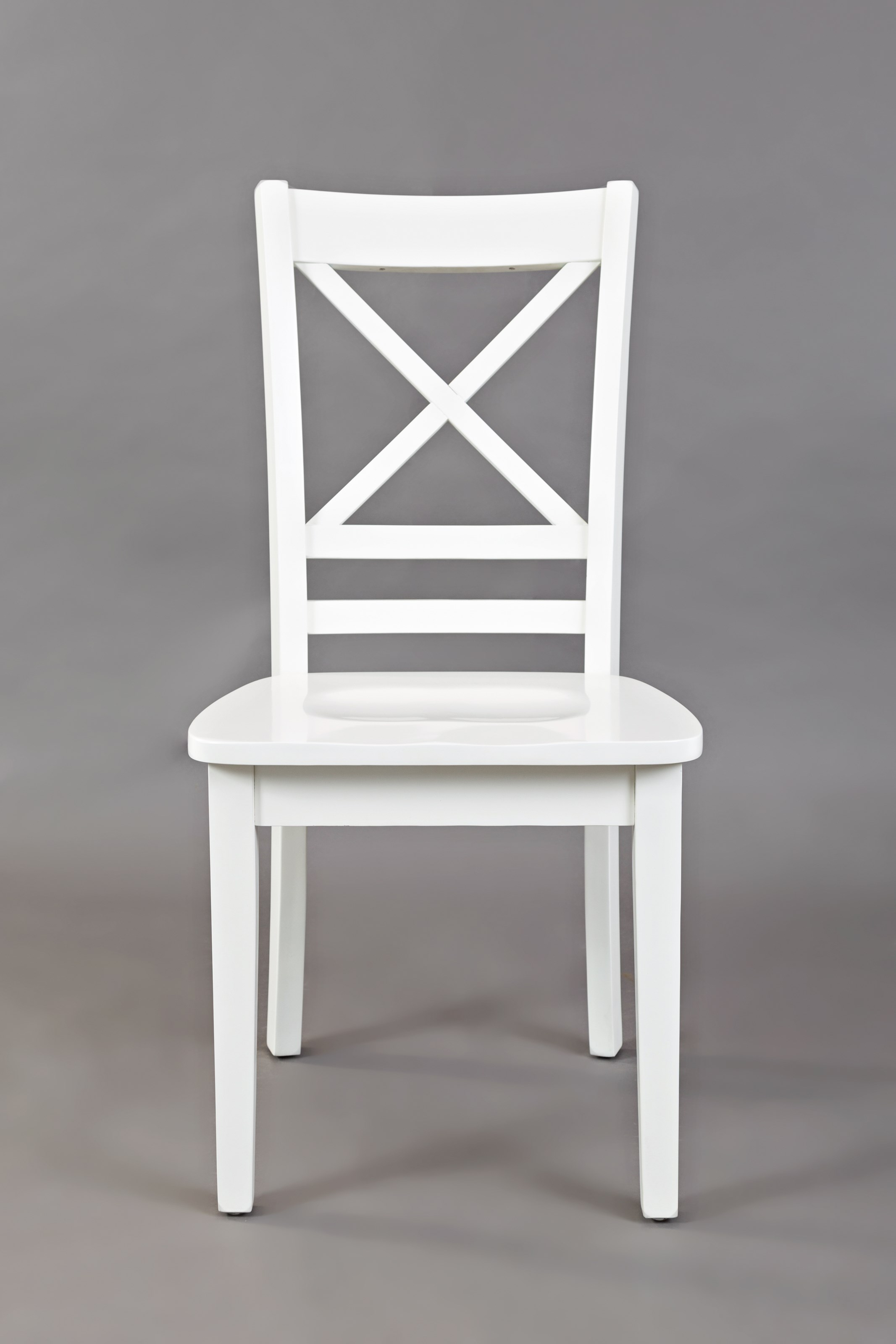 "Simplicity ""X"" Back Side Chair by Jofran at Jofran"
