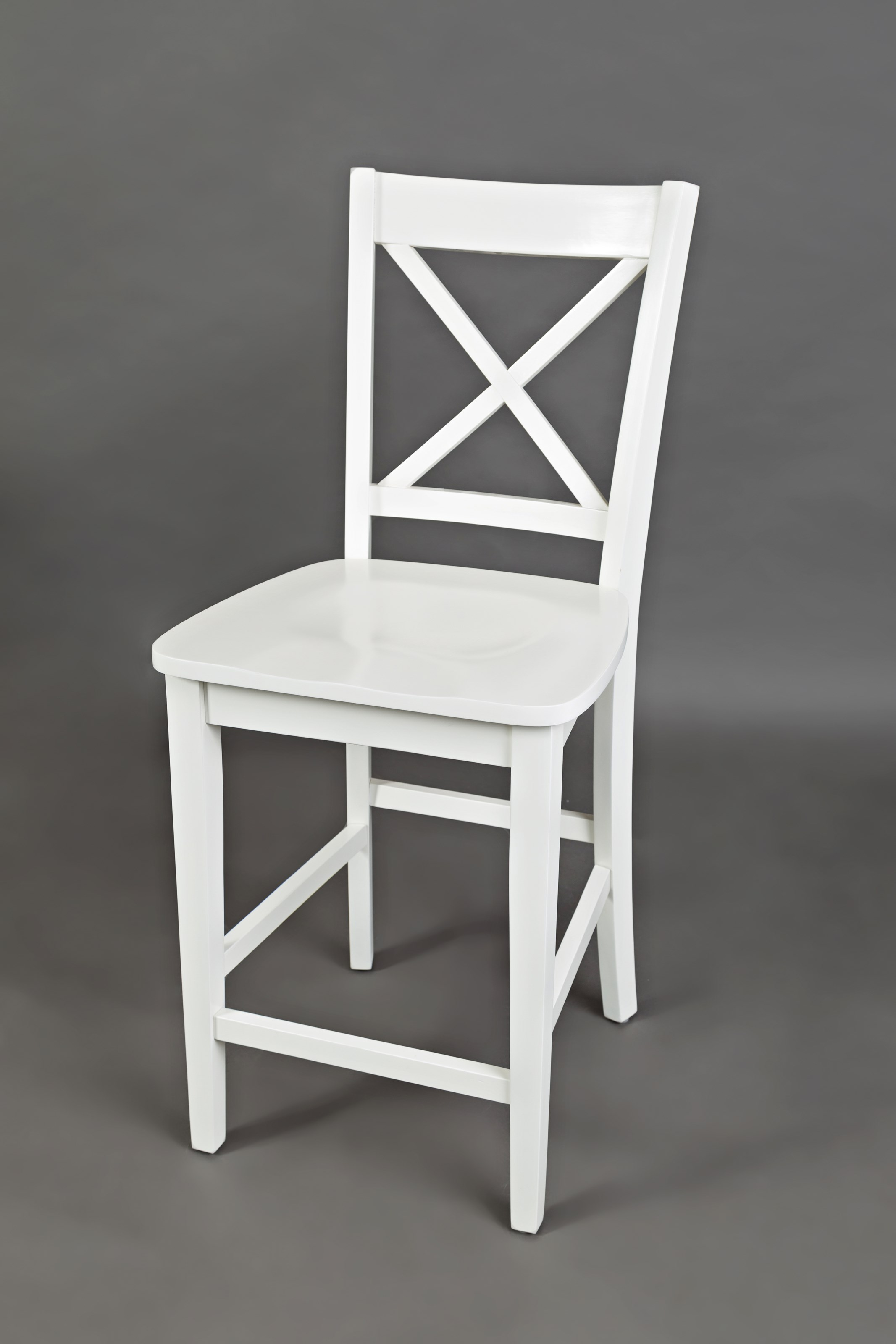 Simplicity X-Back Stool - Counter Height by Jofran at Sparks HomeStore