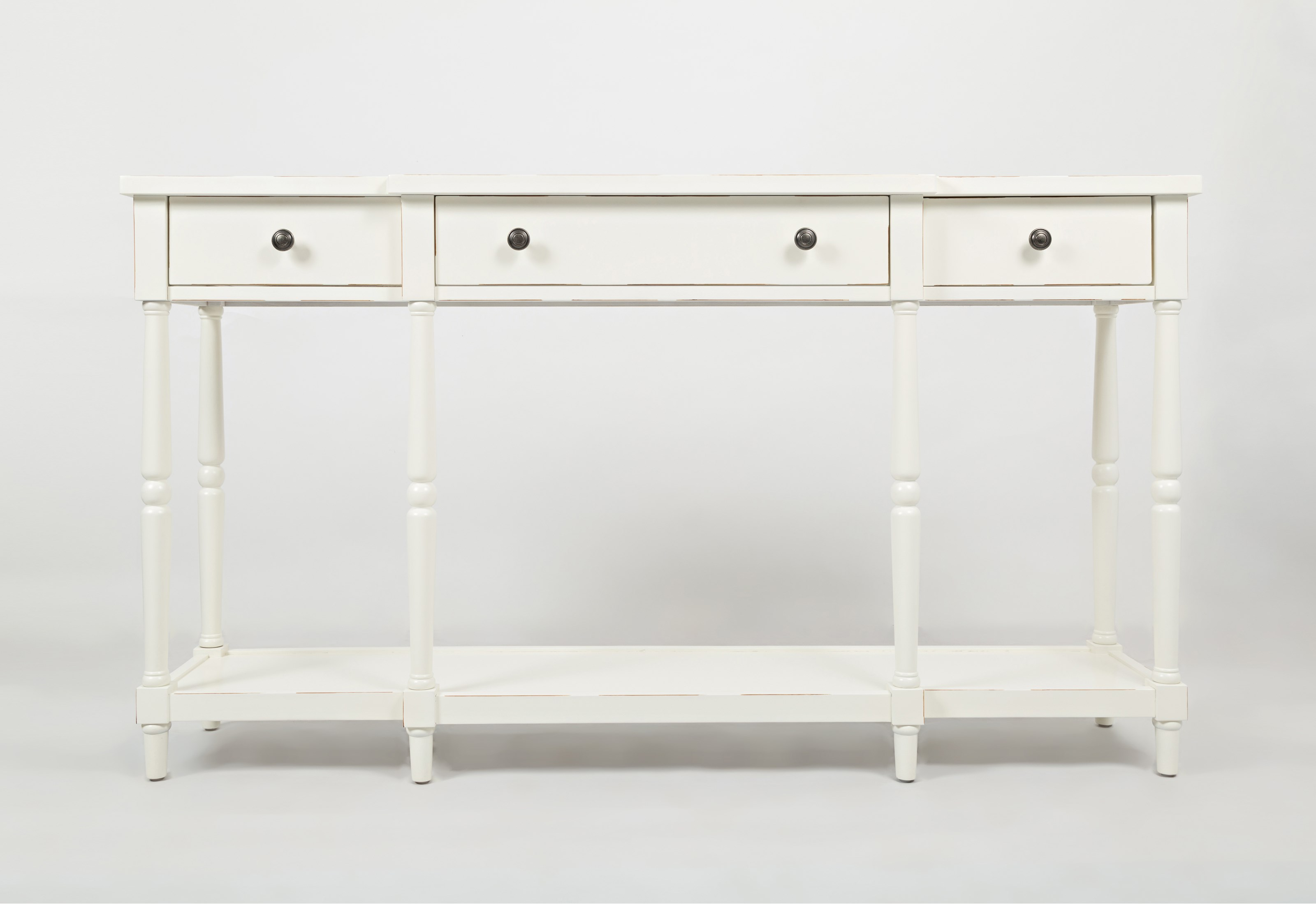 "Stately Home 60"" Console by Jofran at Stoney Creek Furniture"