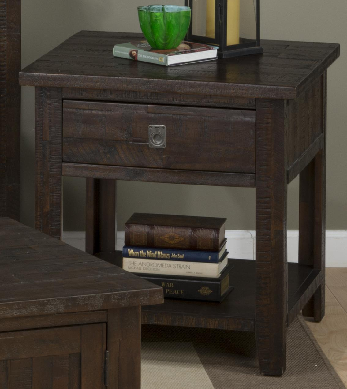 Stockport Stockport End Table by Jofran at Morris Home