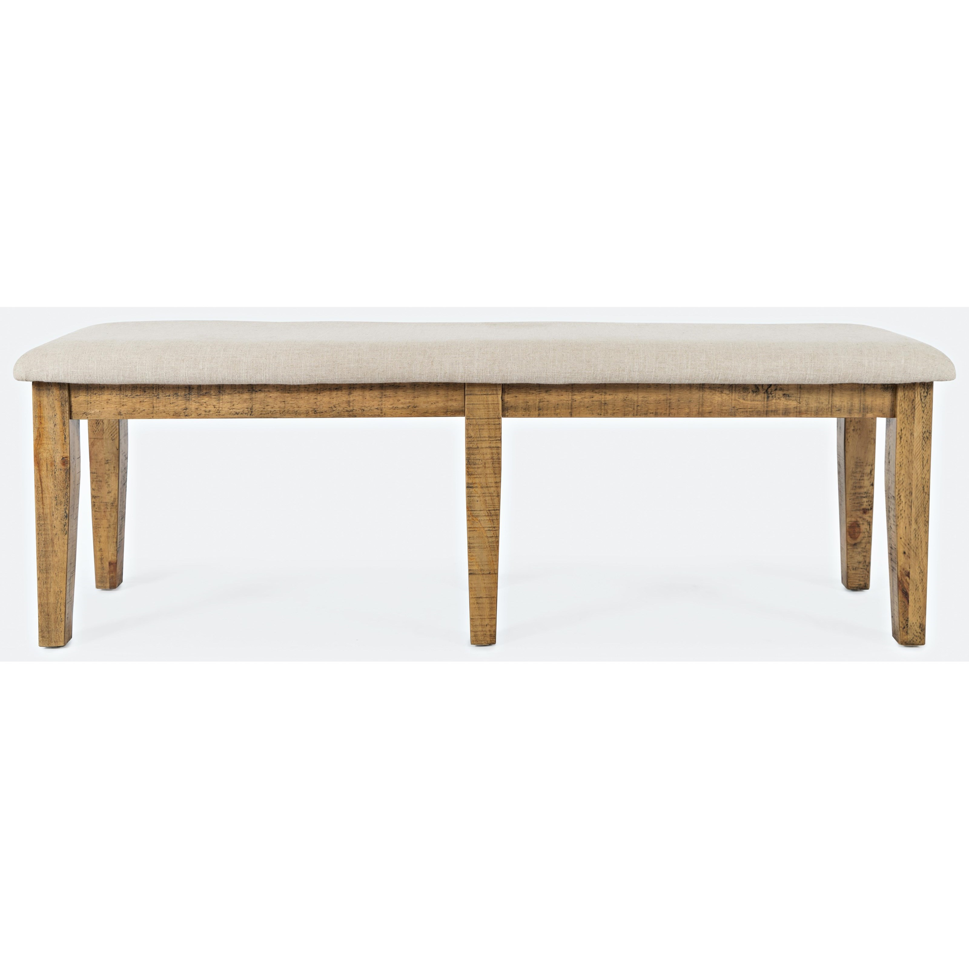 Telluride  Dining Bench by Jofran at Beck's Furniture