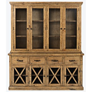 China Cabinet with Touch Lighting