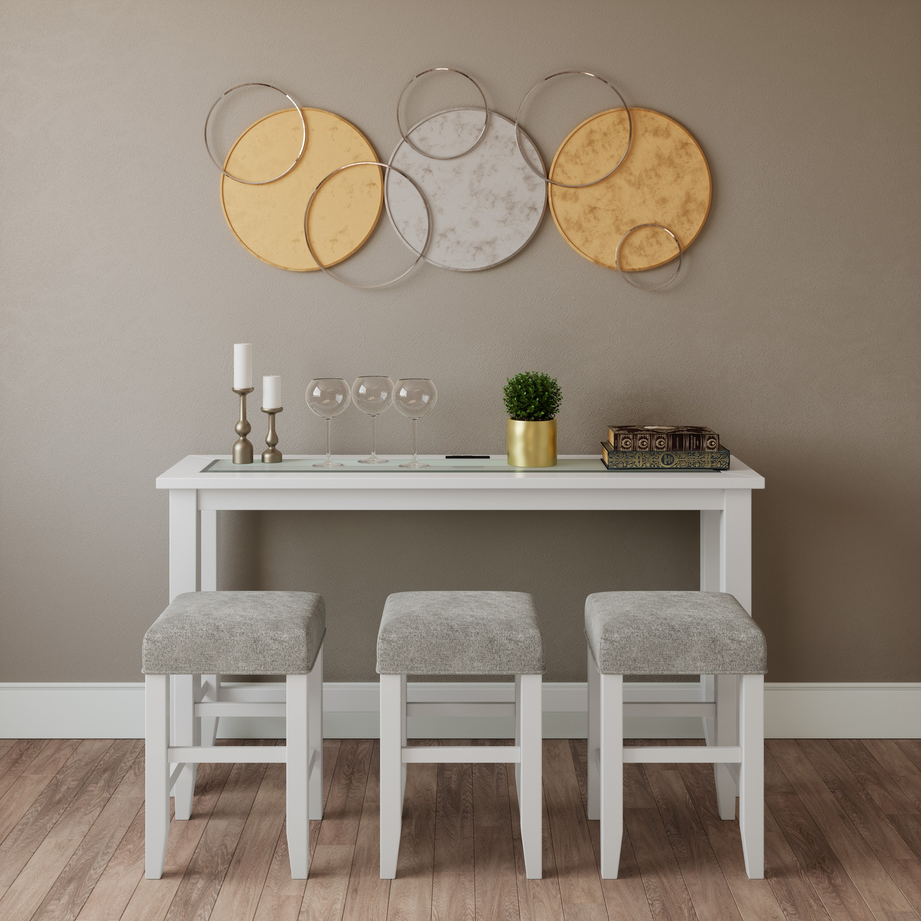 Urban Icon Sofa Counter Dining - 4 Piece by Jofran at Sparks HomeStore
