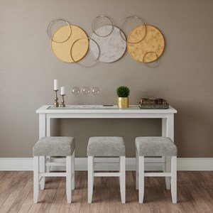 Sofa Counter Dining - 4 Piece