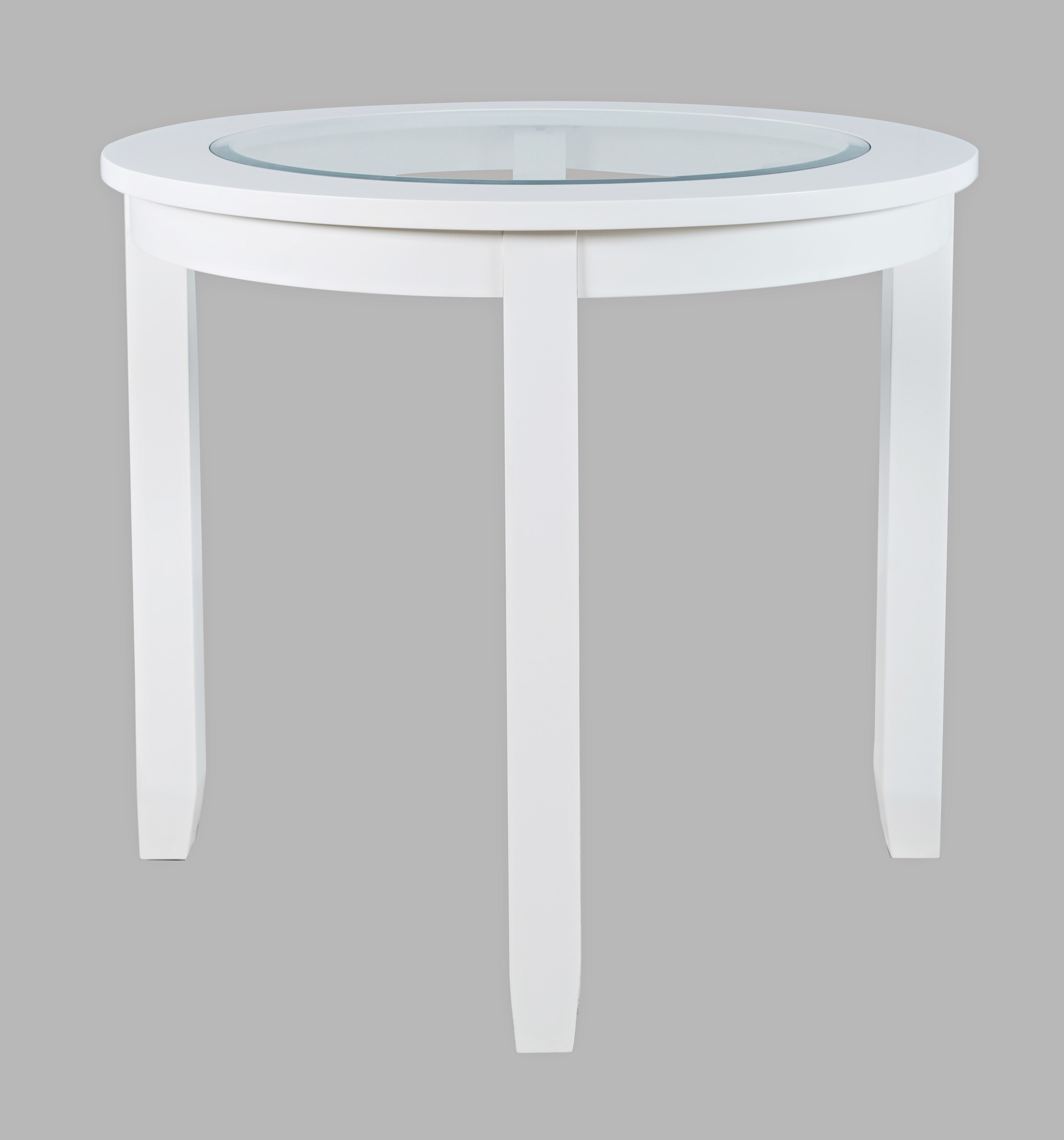 "Urban Icon 42"" Round Counter Height Dining Table by Jofran at Home Furnishings Direct"