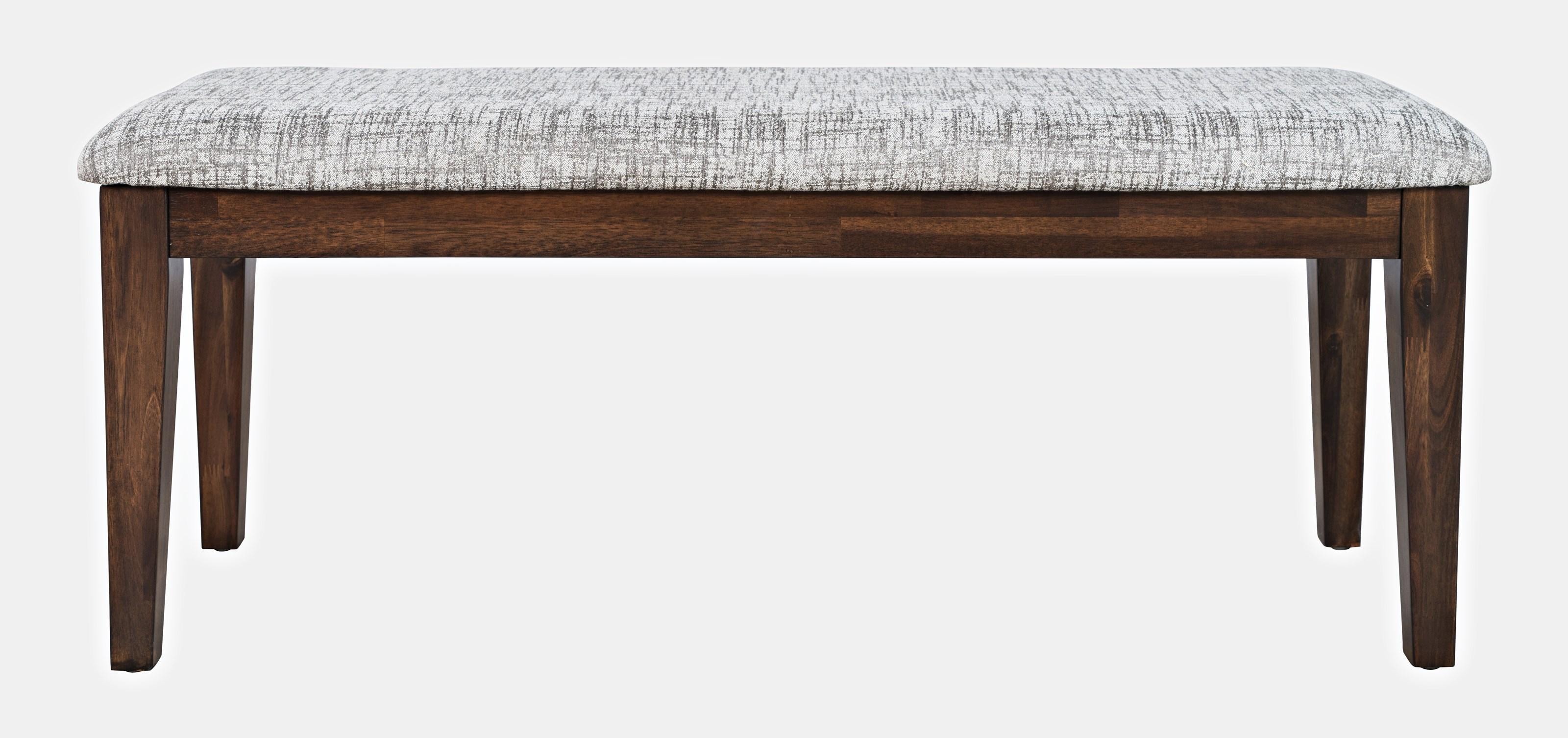 Urban Icon Upholstered Bench by Jofran at Jofran