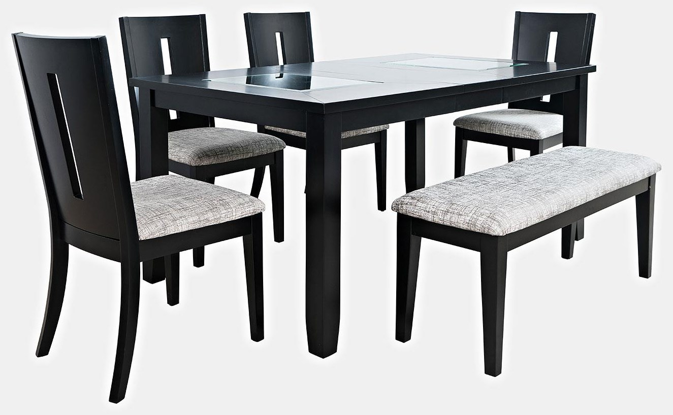 Seattle Seattle 6-Piece Dining Set by Jofran at Morris Home