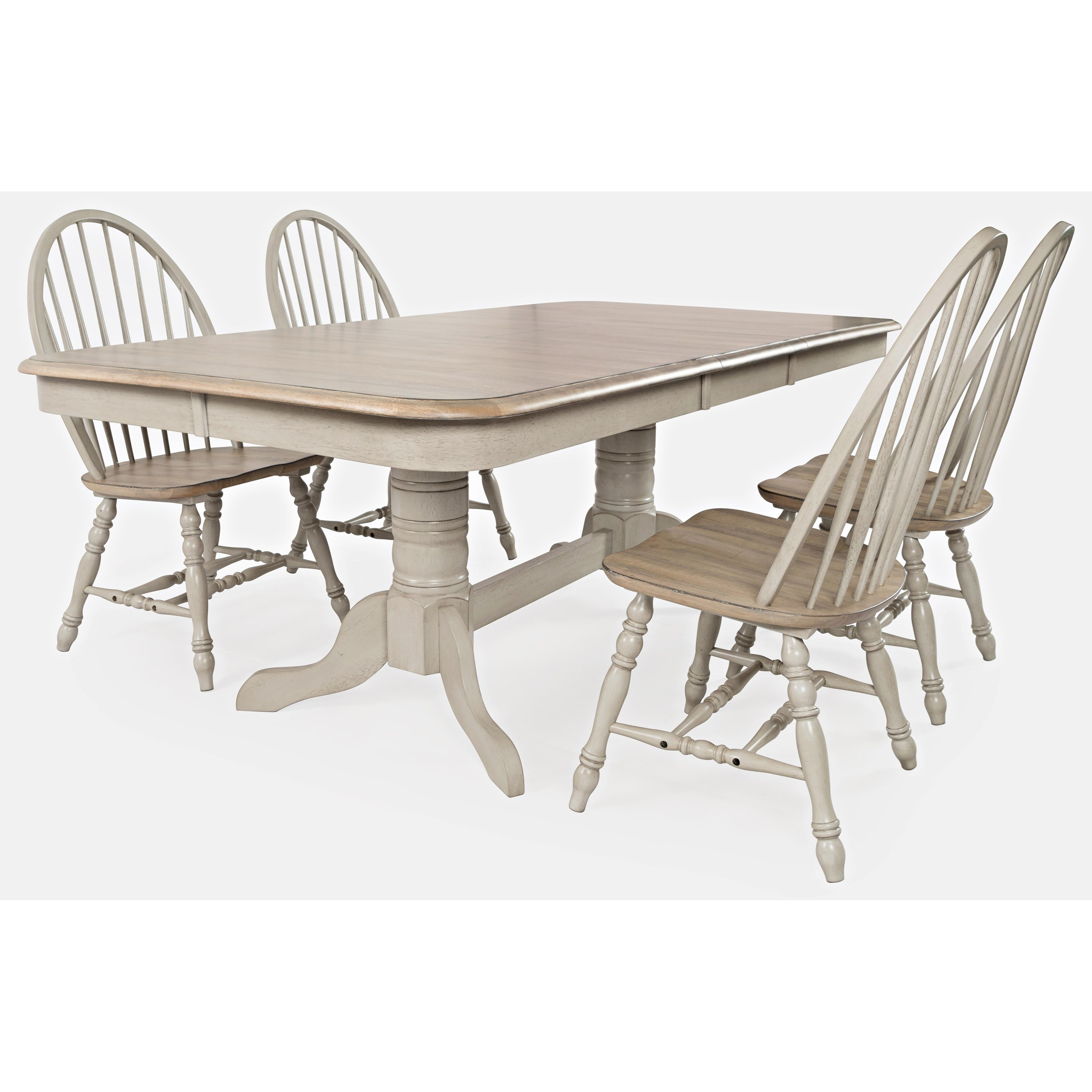 Westport 5-Piece Dining Table and Chair Set by Jofran at Jofran