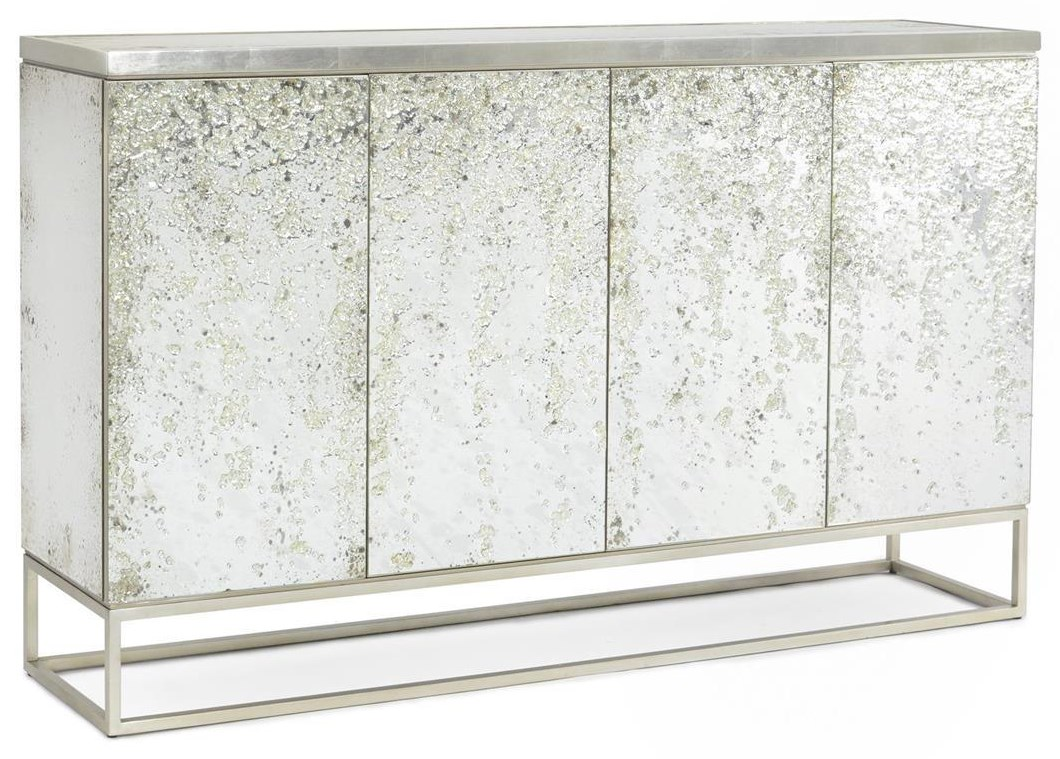 Credenzas 4-Door Cabinet by John-Richard at Baer's Furniture