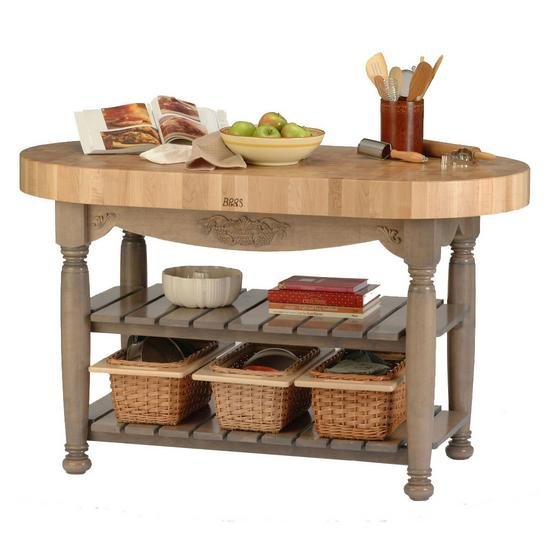 Kitchen Carts and Islands Harvest Island by John Boos at Dinette Depot