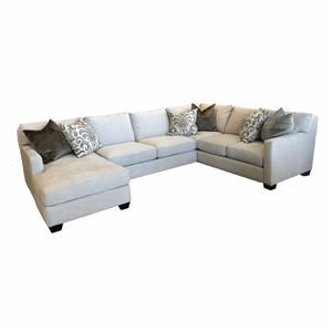 3 PC Down Sectional-LAF Chaise