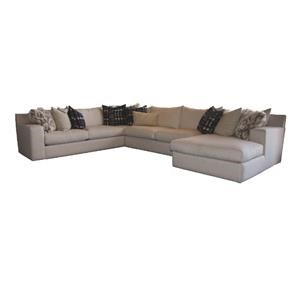4 PC Down Sectional