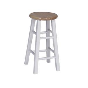 "John Thomas Dining Essentials 24"" Round Top Stool"