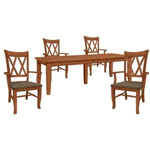 Table and 4 Side Chairs