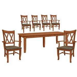 Table and 6 Side Chairs