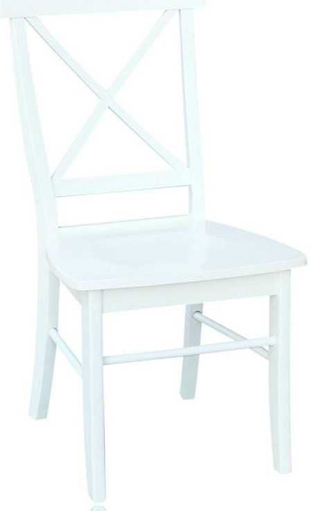 Dining Essentials X-Back Chair by John Thomas at Johnny Janosik
