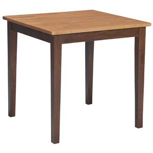 John Thomas Dining Essentials Casual Square Table