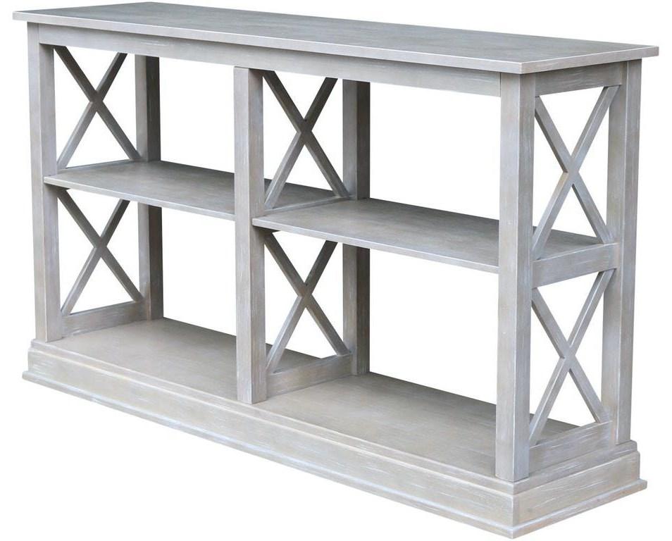 Hampton Long Sofa Table by John Thomas at Johnny Janosik