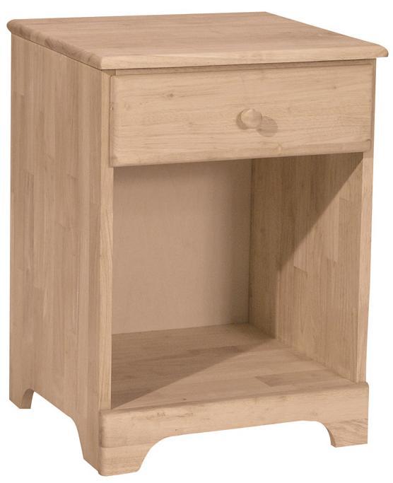 SELECT Bedroom 1-Drawer Night Stand by John Thomas at Furniture Barn