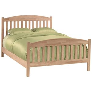 John Thomas SELECT Bedroom Queen Mission Bed
