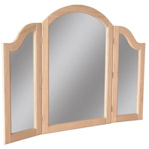 John Thomas SELECT Bedroom Tri-Fold Mirror