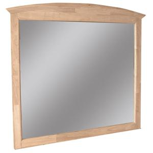 John Thomas SELECT Bedroom Landscape Dresser Mirror