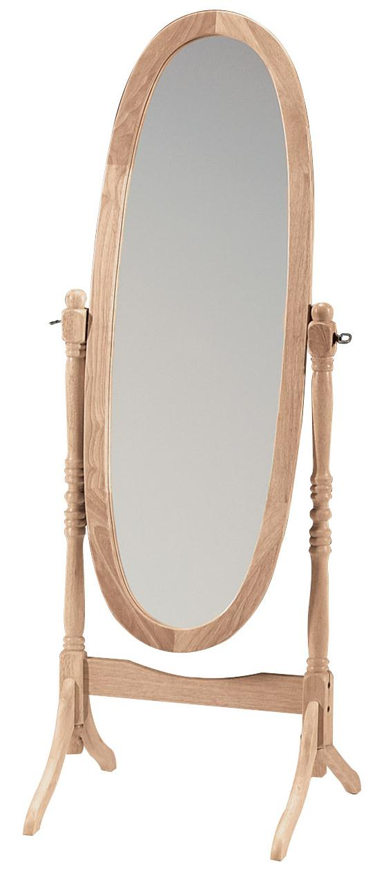 SELECT Home Accents Oval Cheval Mirror by John Thomas at Esprit Decor Home Furnishings