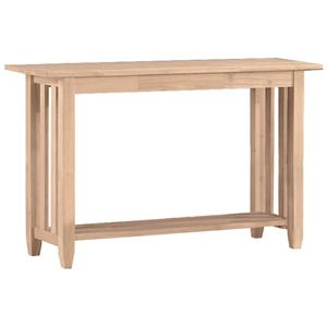 John Thomas SELECT Home Accents Mission Sofa Table