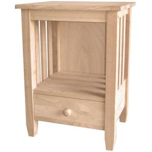 John Thomas SELECT Home Accents One-Drawer Mission End Table