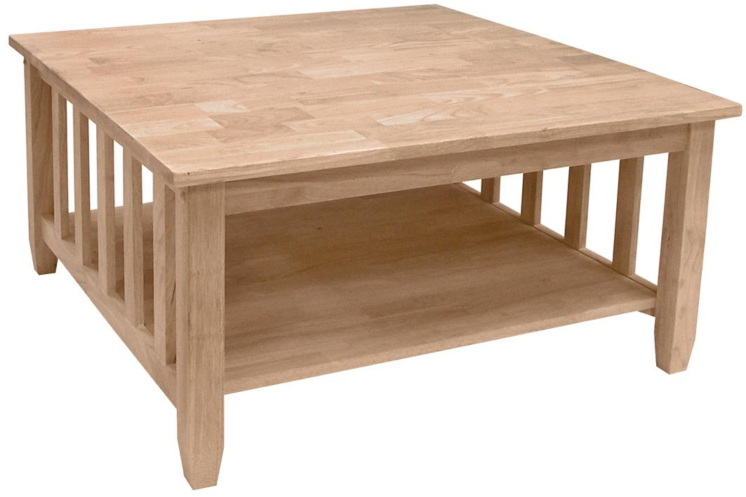 SELECT Home Accents Mission Square Coffee Table by John Thomas at Furniture Barn