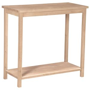 John Thomas SELECT Home Accents Portman Sofa Table with Shelf
