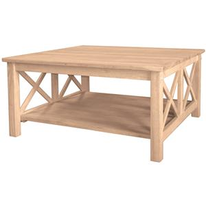 John Thomas SELECT Home Accents Hampton Square Coffee Table