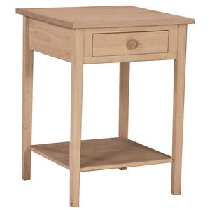 John Thomas SELECT Home Accents Hampton Bedside Table