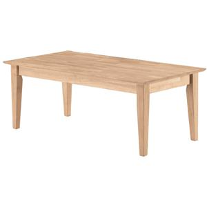 John Thomas SELECT Home Accents Shaker Coffee Table